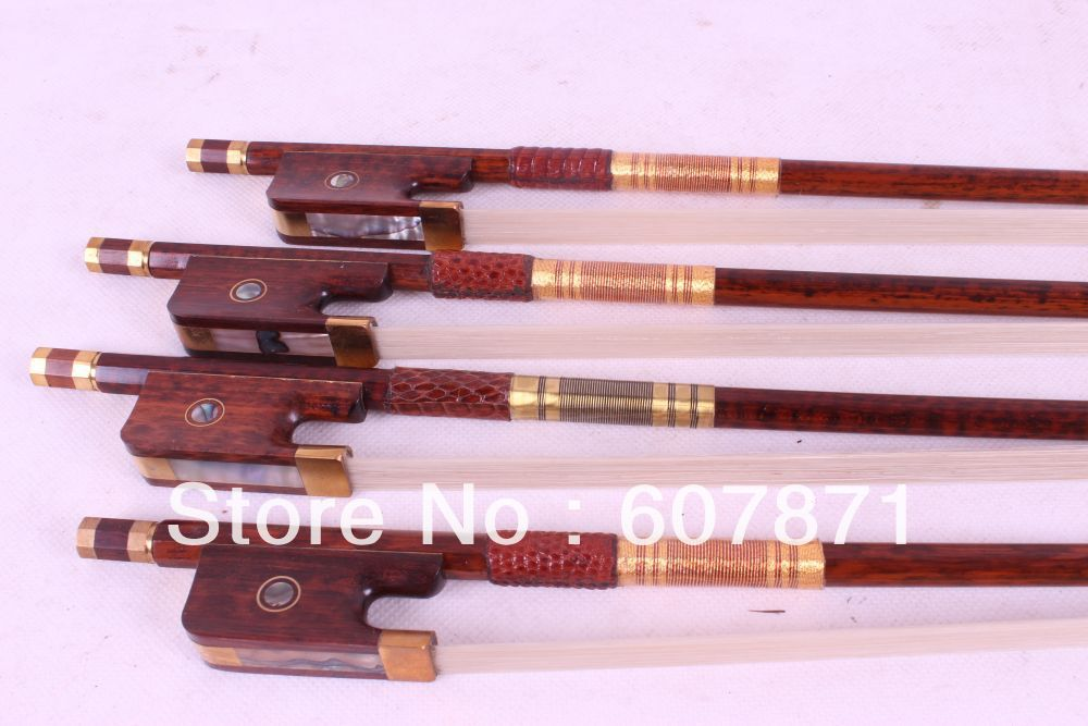 60# One cello bow Snakewood Round Stick French Style Parisian Eyes 4/4 New #3 gztophid 3 inches koito q5 h4 bi xenon projector lens for car headlight using d2h xenon bulbs quick install free shipping
