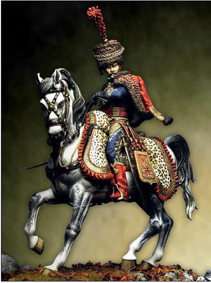 hussars guard napoleao 75 mm