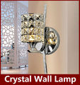 Modern Crystal Wall Lamp Sconce K9 G9 Bed room Stairs Aisle chandelier wall light fixture shade for Home Decor Luminaire FRHA/B2