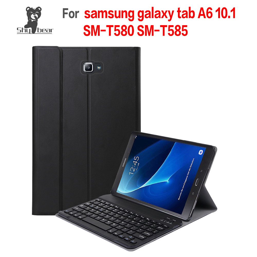 Accessory Cover Case for Samsung Galaxy Tab A 10.1 2016 T580 T585 Quality with Removable Detachable Bluetooth KeyboardAccessory Cover Case for Samsung Galaxy Tab A 10.1 2016 T580 T585 Quality with Removable Detachable Bluetooth Keyboard