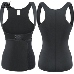 Image 3 - Lover Beauty Neoprene Body Shaper Slimming Waist Trainer Cincher Vest Women Shapers Underbust Workout Thermo Push Up Trainer