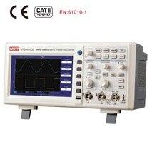 UNI T UTD2025CL oscilloscope digital 2CH 25MHz Bandwidth 250Ms s sample rate Desktop Digital Storage oscilloscope