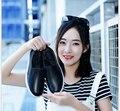 Женщины Натуральная Кожа мокасины дышащие плоские одиночные обуви Slip-На досуг кожаные белые туфли