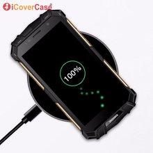 Kablosuz Şarj Doogee S60 S70 S90 Hızlı Şarj Pedi Moda telefon aksesuarı Kılıf Doogee S60 Lite Qi Kablosuz Şarj Cihazı