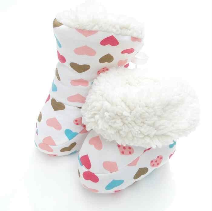 Winter Sneeuw Baby Schoenen Laarzen Meisjes Jongens Kids baby peuters pasgeboren Soft Fleece warm