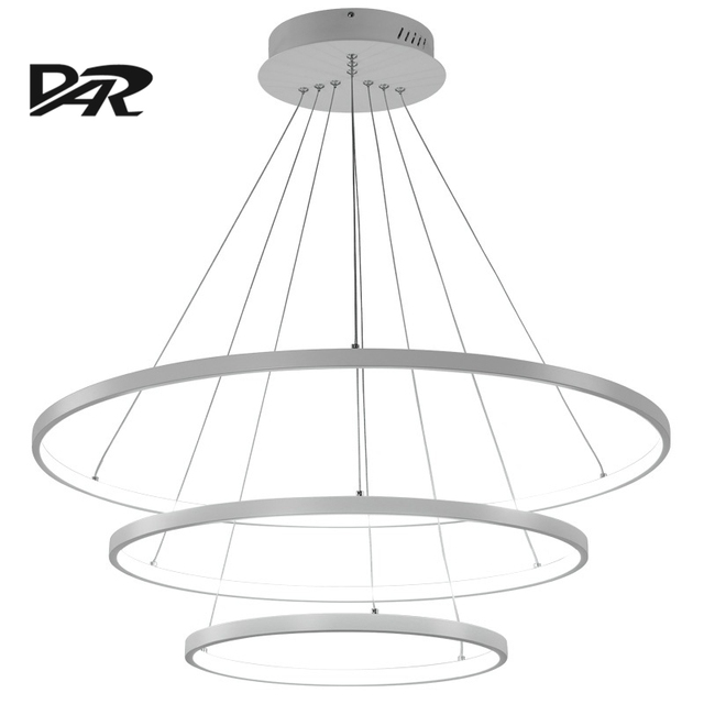 Modern acrylic rings pendant lights for dining room ac 90 260v modern acrylic rings pendant lights for dining room ac 90 260v lamparas led pendant lamp aloadofball Gallery