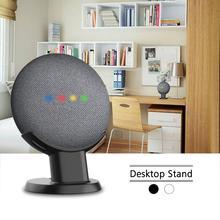 Google 홈을위한 마운트 스탠드 홀더 Mini Nest Mini Voice Assistant 주방 침실의 스마트 홈 오토메이션 오디오 마운트
