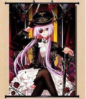 Домашний Декор японский плакат прокрутки Gasai Yuno розовый