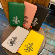 Sunbird Fashion Women's Wallet Genuine Cow Leather Long Style Luxury Designer Ladies Purse Female Card Holder