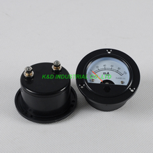 1pc Current SO52 Panel Meter DC 100MA Gauge Black fr 300B 2A3 845 Tube Amplifier promotions noble voice of t series markii tube 2a3 tii classic version single price
