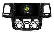 Elanmey android 8,1 автомобиль радио для toyota Hilux 2012 Руководство AC автомобильные аксессуары DSP прибор GPS навигация Мультимедиа bluetooth Камера