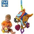 Candice guo! TAF bebé divertido juguete paño bloque sonajero hipopótamo conejo cubo táctil multifuncional bebé juguetes educativos 1 unid