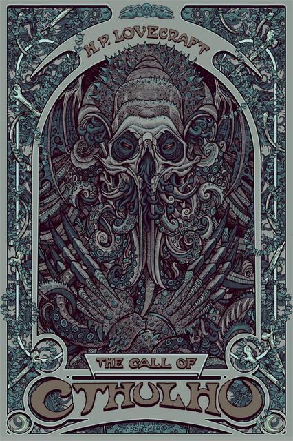 Vente chaude D\'une Seule Pièce H. P. Lovecraft Cthulhu Art nouveau ...