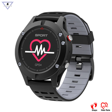 Купить с кэшбэком Professional Outdoor F5 smart watch Multi-Sport smart bracelet heart rate men's watch smartwatch gps altitude clock smartband