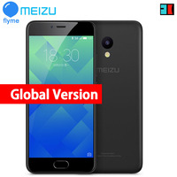 Original Meizu M5 Global Version 4G LTE Cell Phone 2.5D Glass MT6750 Octa Core 5.2