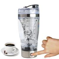 New Shaker Bottle Electric Blender Bottle 450ML Vortex Mixer Cup Leakproof Cups J2Y