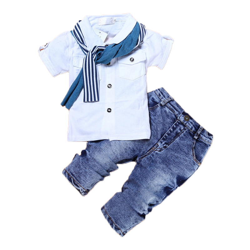 2Pcs Baby Boy Clothes Summer Children Clothing Sets Fashion Kids Clothes Cartoon Newborn Baby Clothes Roupas Bebe Infant Clothes clearance 2pcs set baby boy clothes cartoon pattern baby clothing sets summer black white top pant for newborns bebk giyim
