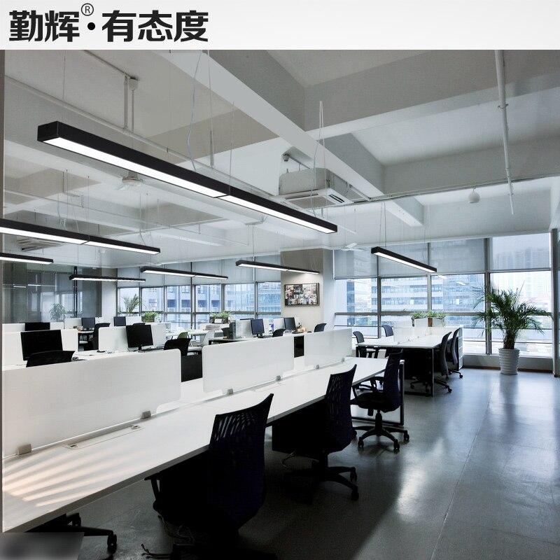 LED strip licht kroonluchter lamp moderne kantoor kantoor ...