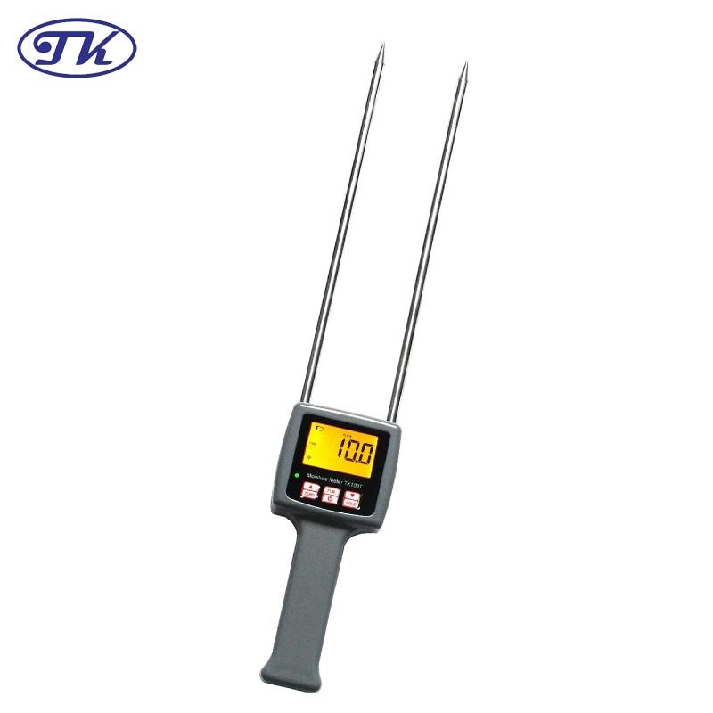 TK100T Portable Digital Moisture Meter Tobacco Moisture Meter Tester