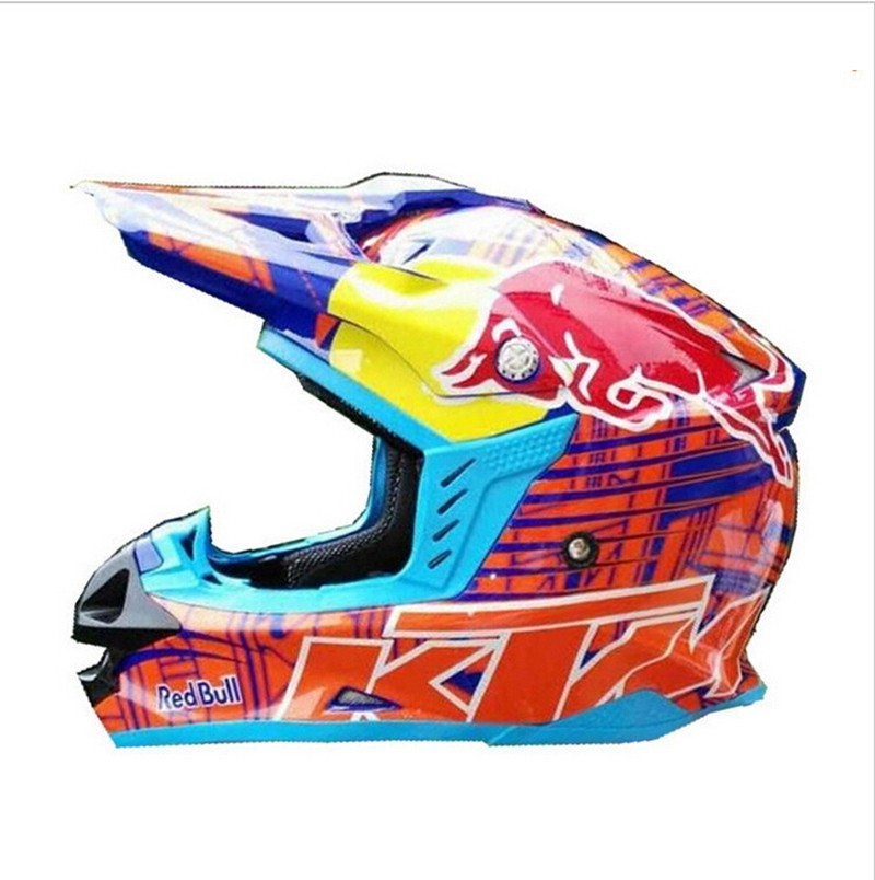La CEPE aprobó Material ABS Casco de la motocicleta con doble D anillo hebilla Motocross Capacete Moto Casco