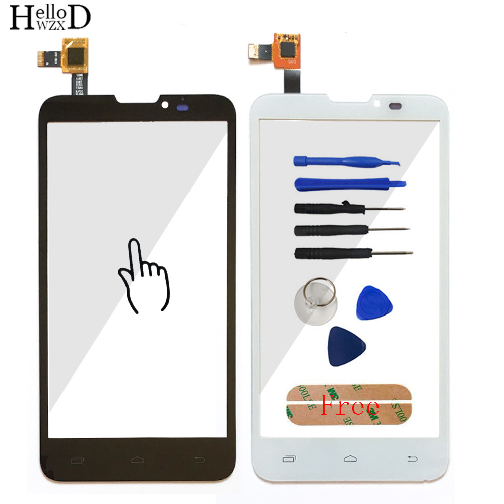 5.0 Smartphone Touch Glass For Prestigio MultiPhone PAP5300 PAP 5300 Duo Front Screen Digitizer Panel Lens Sensor Tool Adhesive
