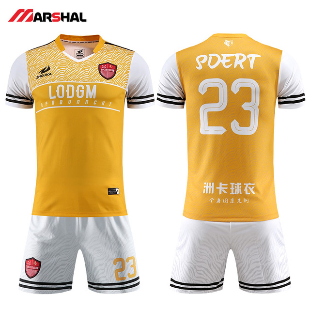 21a855401 New style coolest Custom youth soccer uniforms football kits shirt maker on  line