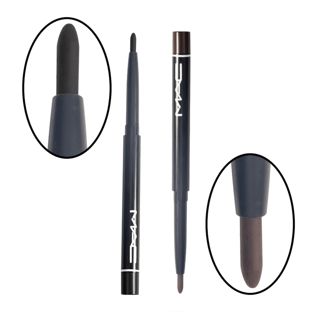 BearPaw Professional Women Waterproof Retractable Rotary Gel Cream Black Brown Eyeliner Pen Eye Liner Pencil Makeup Cosmetic 2