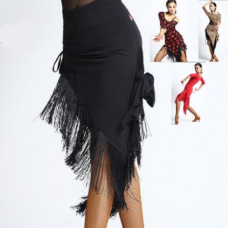 Юбки для танцев с бахромой