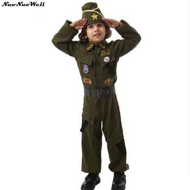 Wholesale Free Shipping Cheap Navy Cosplay Costume Clothing for Children's Day Performance or Children's Halloween Party