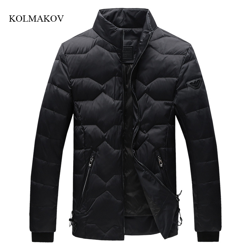 2017 New Arrival Winter Style Men Jacket 90% White Duck Down Jackets Fashion Casual Portable Warm Coat for Men large size M-5XL