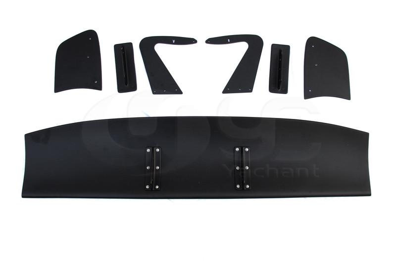 Universal Voltex Type 7 SWAN NECK Rear GT Wing Spoiler FRP (41)