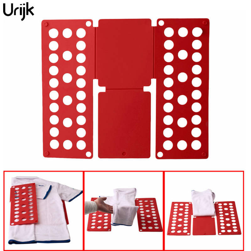 Urijk Folding Board Child Adult Clothes Folder Closet Organizer Clothing Easy Folder Board Laundry Multifuncitonal Home Storage