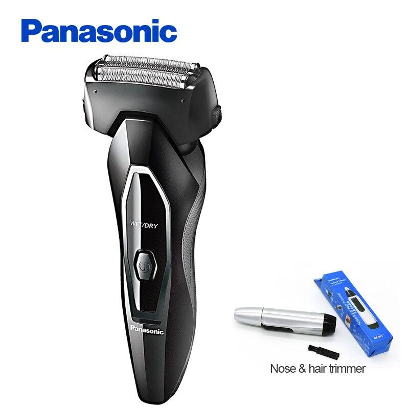 100% D'origine Panasonic Rasoir Électrique ES-FRT2 Rechargeable Portable Corps Entier Lavage Ergonomique conception Électrique Rasoir
