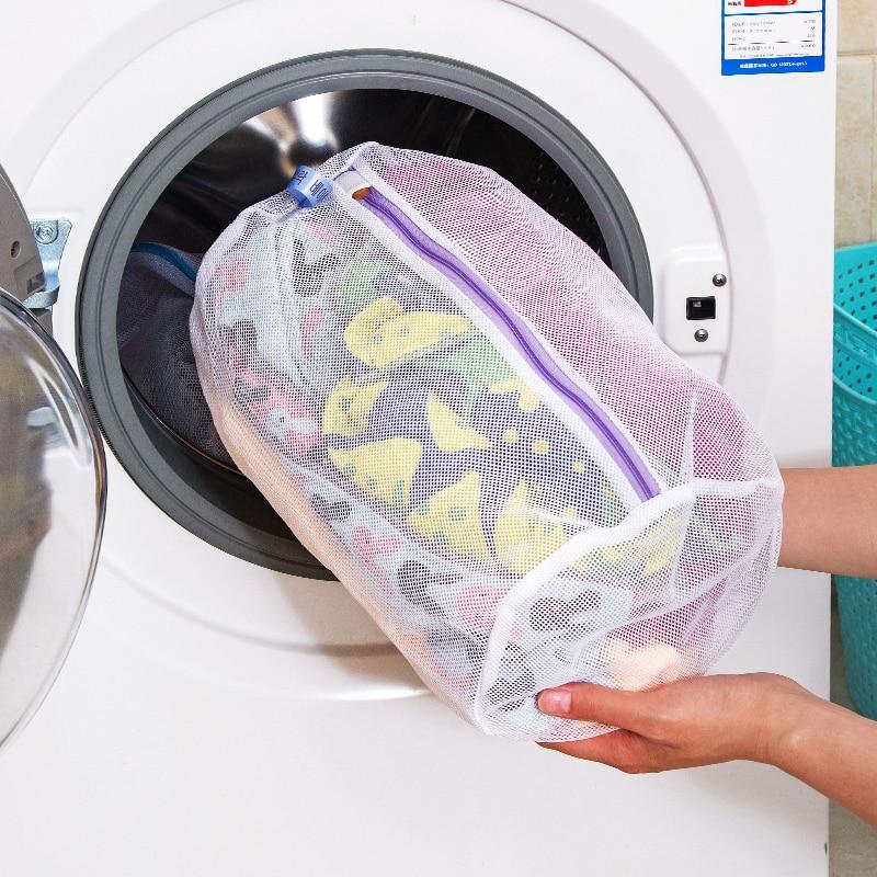 Underwear Clothes Washing Machine Laundry Bra Aid Lingerie Mesh Net Wash Bag Pouch Basket Socks Laundry Washing Machine Net Bag