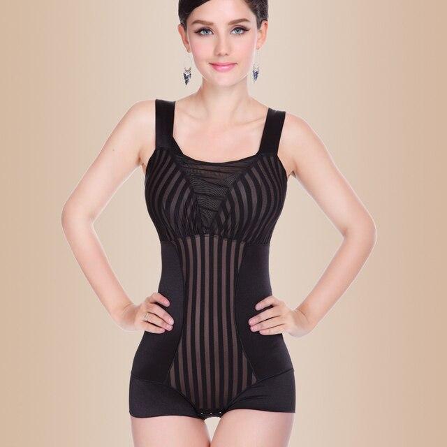 2016 Lady intimates shapers underwear bra corset mulheres bodysuits cueca emagrecimento roupas corpo Siamese roupas B-1568