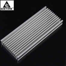 все цены на 1 Piece Heat sink 120mm x 50mm x 12mm Aluminum Heatsink Cooling Radiator Electronic CPU Cooler онлайн