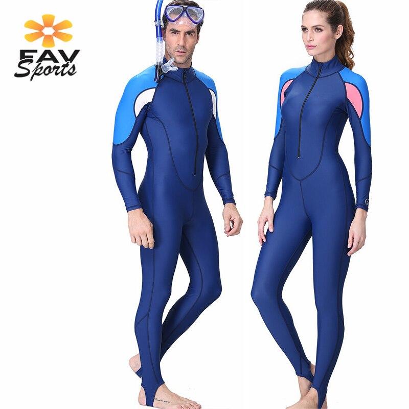 2019 Nieuwe Stijl Blauw Duiken Wetsuit Unisex Scuba Neopreen Wetsuit Snorkelen Duiken Huid Zwemkleding Volledige Lengte Surfen Pak Jumpsuit Rash Guard
