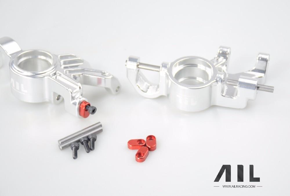 ALLRC 6061 t6 CNC In lega di Alluminio Opzionale aggiornamento Del Metallo tazza di Sterzo componenti per trax X xmaxx parti di automobili del rc - 3