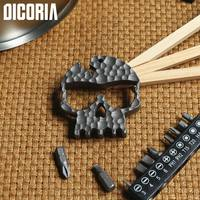 DICORIA Glasses Monkey CNC Titanium Ti Hand Tools Sets Multi Function Screwdrivers Bottle Opener Outdoor Gear