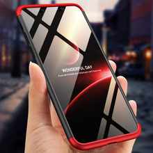 For iphone XS Case 360 Degree Full Body Cover Hybrid Shockproof With Tempered Glass Film for