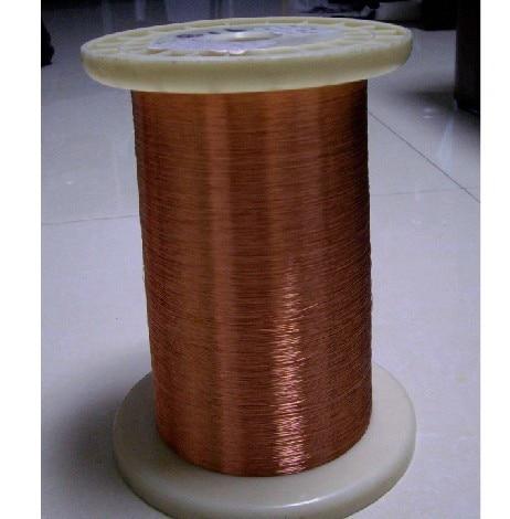 Nemokamas pristatymas Magnetinės vielos emalio vario viela Magnetinis ritė apvija 0.18mmr * 500m / vnt QA-1-155