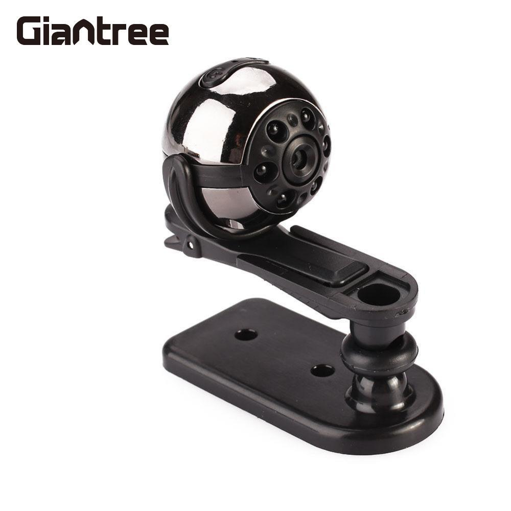 Giantree SQ9 Full HD Mini DV Camera 360 Degree Rotation Infrared Night Vision Motion Micro Video Camcorder DVR Camera CCTV