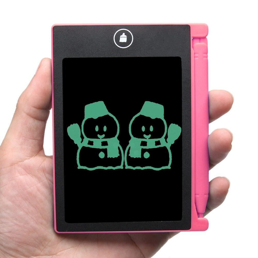 Mini Portable 4.4 pouce Numérique LCD eWriter Écriture Sans Papier Bloc-Notes Dessin Graffiti Bébé Enfants Éducatifs Dessin Jouets