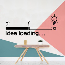 Hot idea loading light Vinyl Wall Sticker Home Decor Stikers For Living Room Bedroom Art Decal