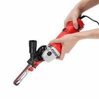 High Quality Sanding Belt Adapter Changed 115 125mm Angle Grinder Into Sander Sanding Machine