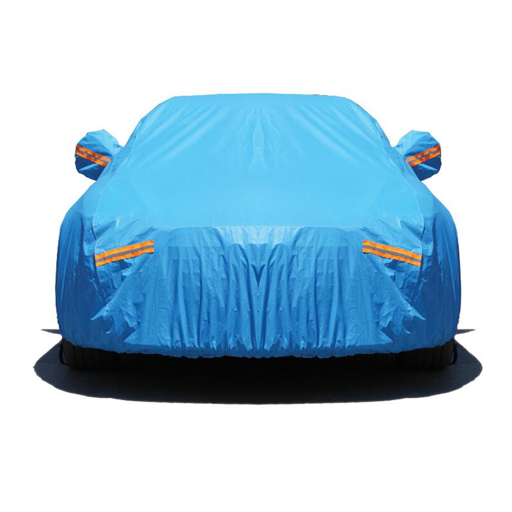 waterproof car covers outdoor sun protection cover for car reflector dust rain snow protective for sedan Hatchback SUV цены онлайн