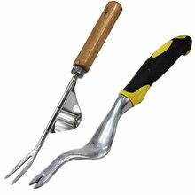 Стальная ручная вилка для прополки, трансплантация, инструменты для копания, ручное удаление, тапроот для доморощенного сада, посадка и инструменты для прополки