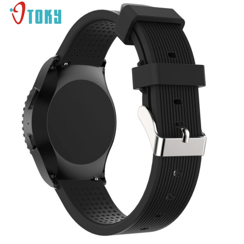 Excellent Quality Sports Silicone Bracelet Strap Band  For Samsung Gear S2 Classic 732 Sturdy Durable Drop Shipping Dec-29 смарт часы samsung gear s2 black