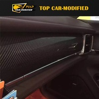 Бесплатная доставка углеродное волокно аксессуары для интерьера внутренняя отделка части для Porsche Panamera Средства ухода за кожей комплекты