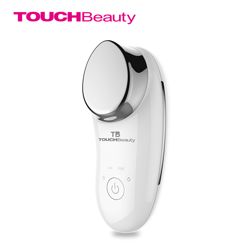 TOUCHBeauty Newly Mini Sonic Facial Massage Device, Ionic Infusion Face Vibration Deep Cleansing SPA Beauty Instrument TB-1681 electric 3d silicone massage ultrasonic facial cleansing brush beauty instrument pores cleaner face vibration spa usb recharge